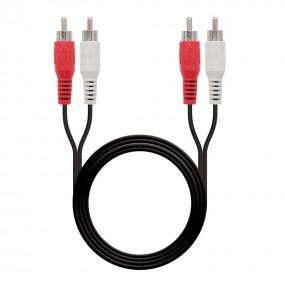 Cable audio estéreo,...